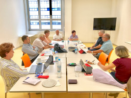Besuch der SPD-Berzirkstagsfraktion bei der Lebenshilfe-Werkstatt Obersendling